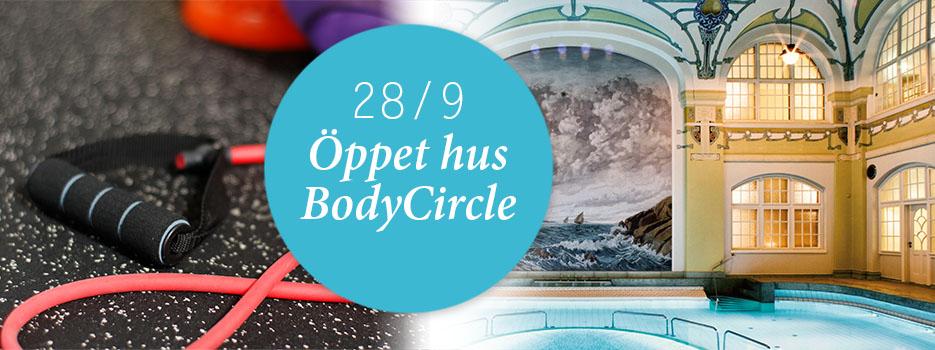 Välkommen till Öppet hus med BodyCircle-tema 29/9